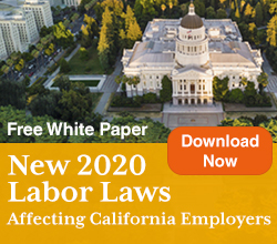 New 2020 California Labor Laws White Paper