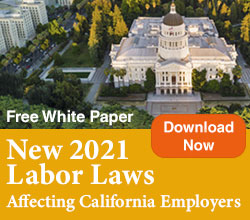 New 2021 California Labor Laws White Paper
