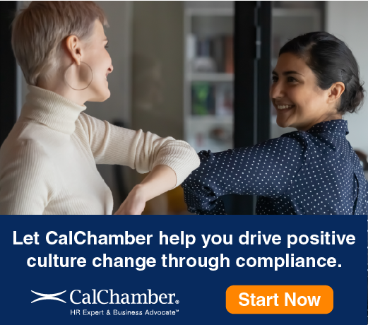 CalChamber California Harassment Prevention Training is required to be completed by January 1, 2021 - Let CalChamber help you drive positive culture change through compliance.